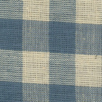 Swedish Blue Gingham Fabric
