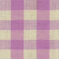 Lavender Gingham Fabric