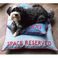 Hand Embroidered Dog Beds